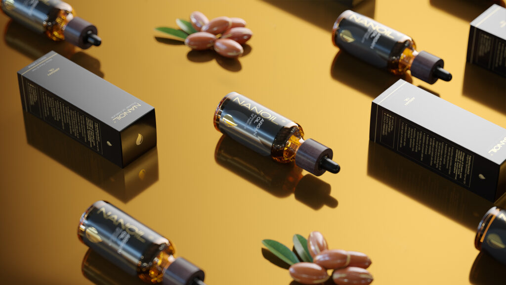 Arganöl Nanoil zur Hautpflege